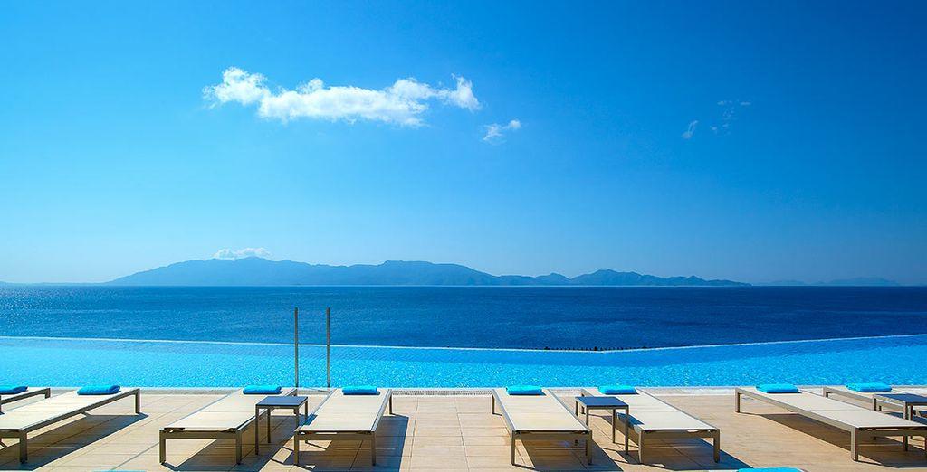 Breathtaking views await you... - Michelangelo Resort & Spa 5* Kos Town