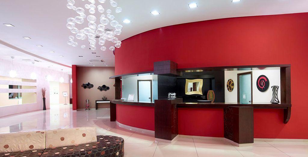 And stylish, modern decor