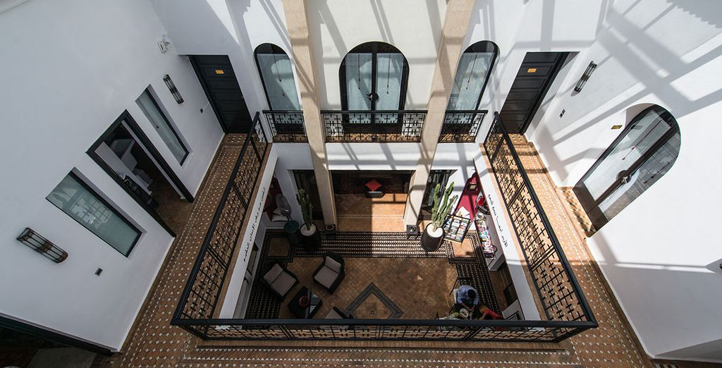 Ideally located in central Marrakech