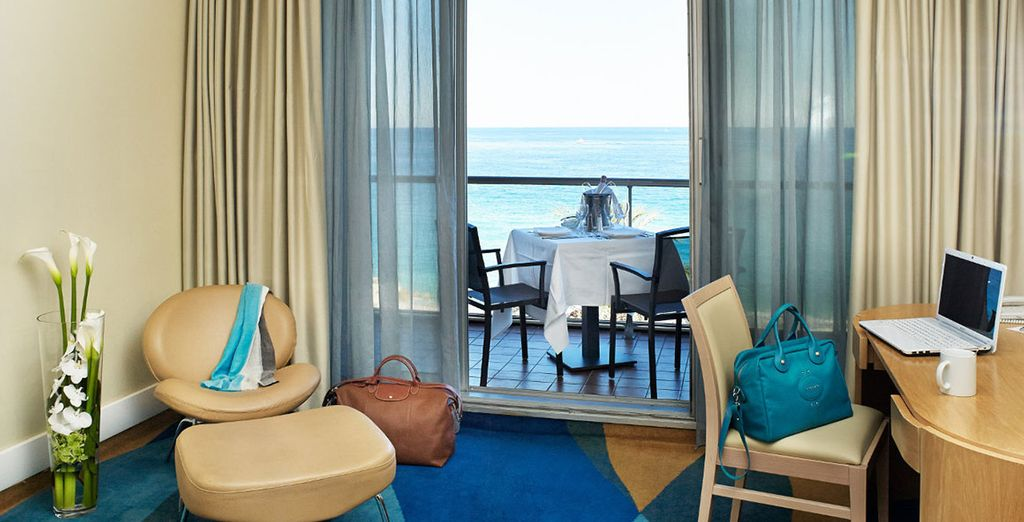 Stay in a Sea View Room....