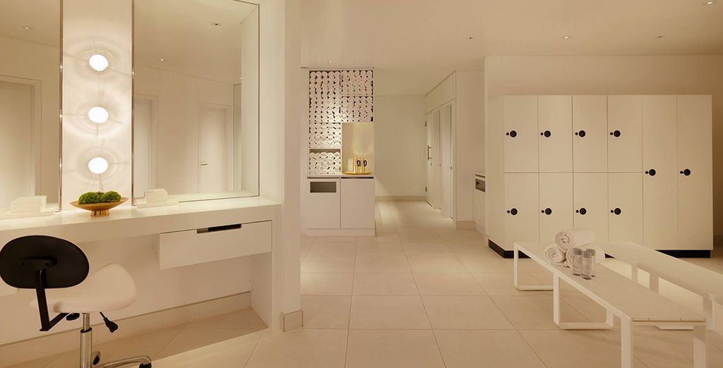 Or retreat to the spa for uninterrupted bliss