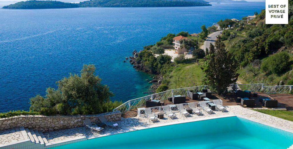 Stunning sea views in Lefkada