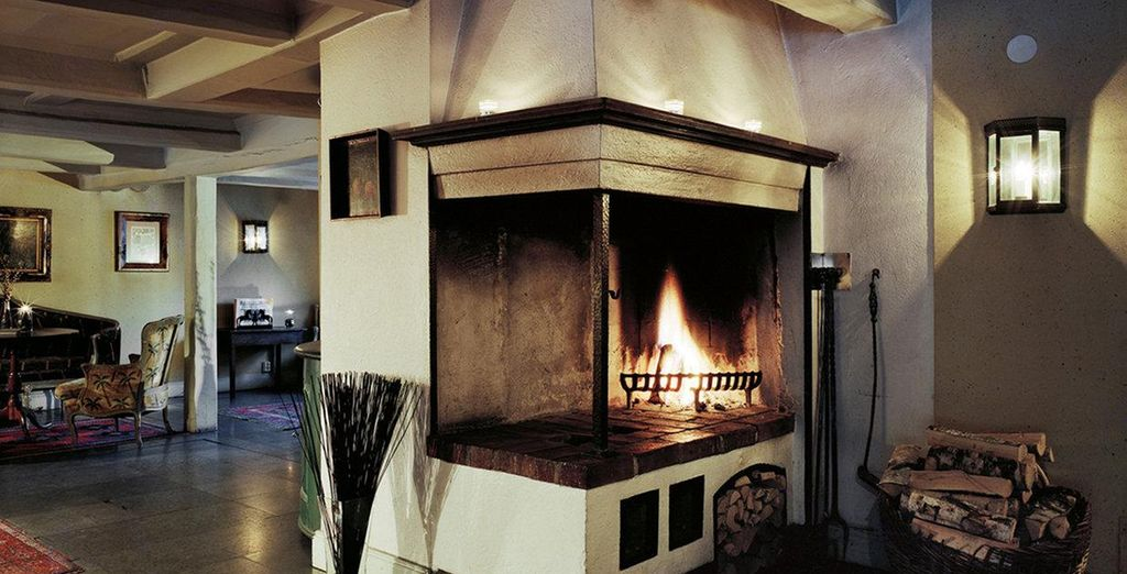 And has a cosy feel - perfect for winter!