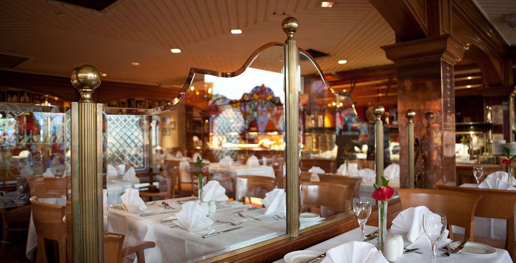 Enjoy the restaurant's kitchen, Minsky's
