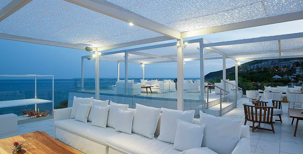 Revel in luxury....