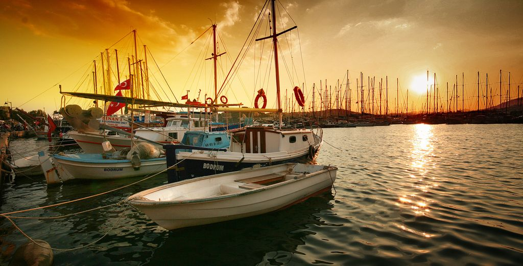 And explore Bodrum's pretty harbour