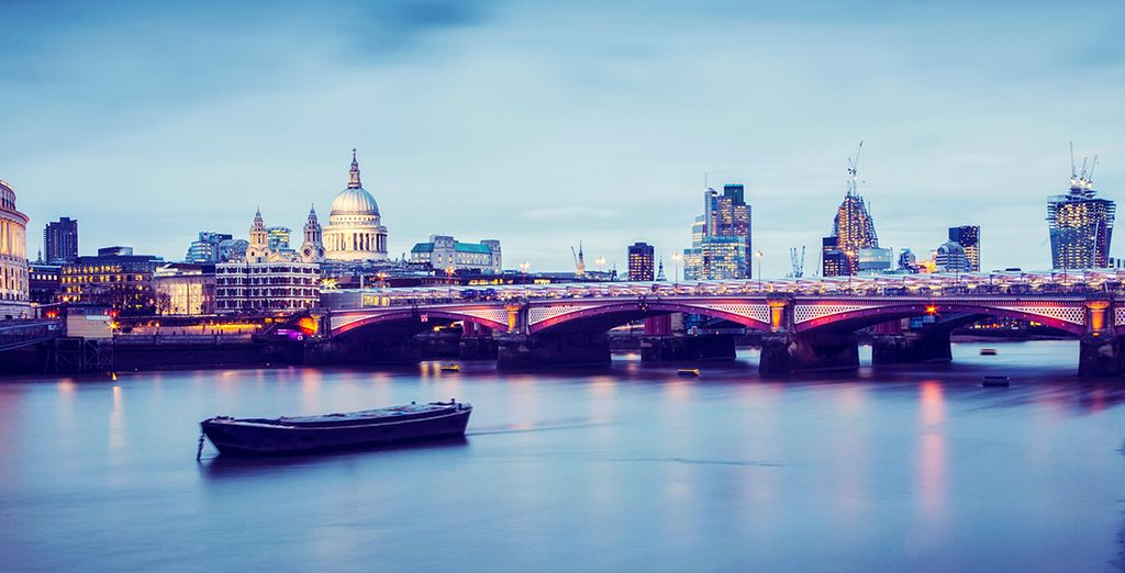 Our members will enjoy a complimentary River Cruise along the Thames - Doubletree by Hilton Islington and Thames River Cruise 4* London