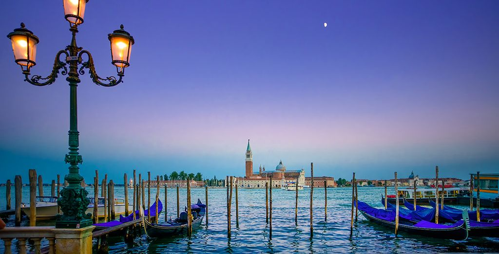 Experience the beauty of Venice