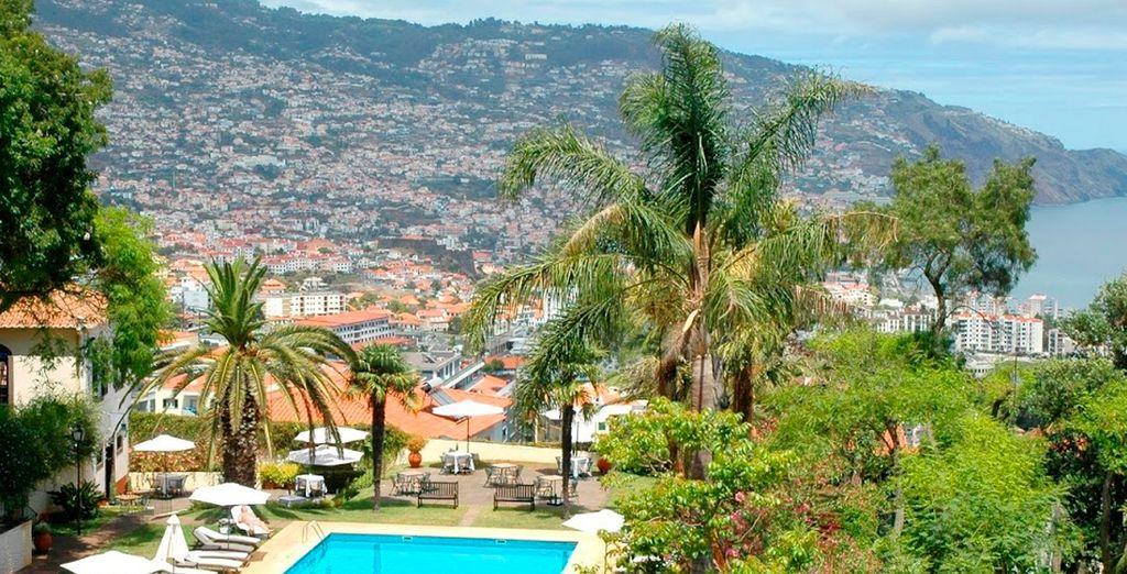 Experience the beautiful panoramic views of Madeira