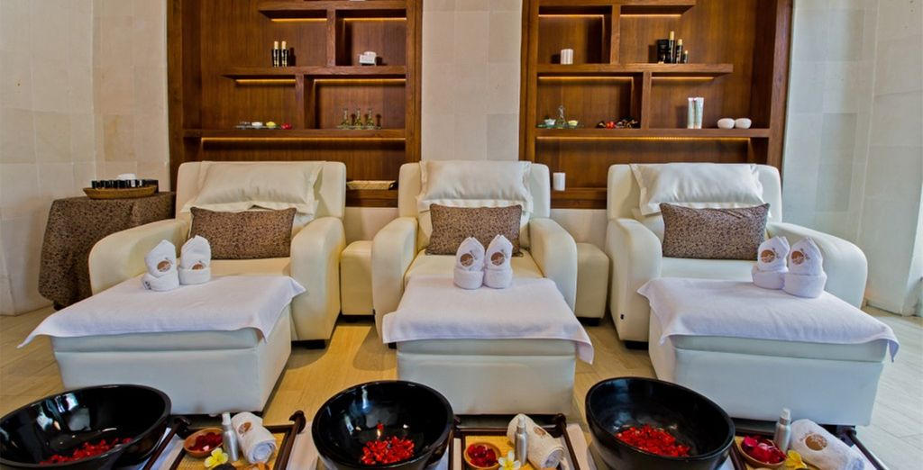 Or pamper yourself at the hotel's spa