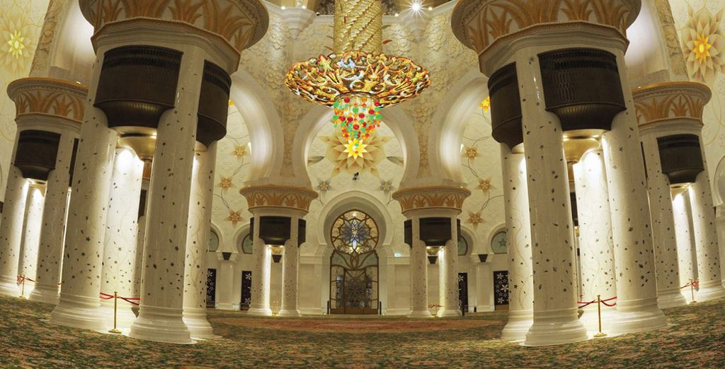 Or head further afield and discover the stunning treats Abu Dhabi has to offer