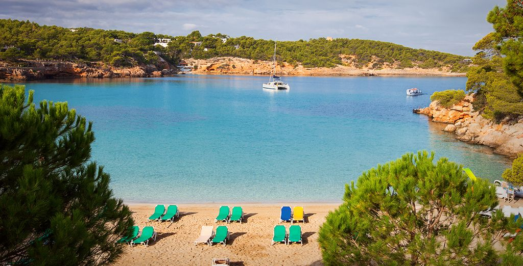 Or head to Portinatx beach, just a few metres away