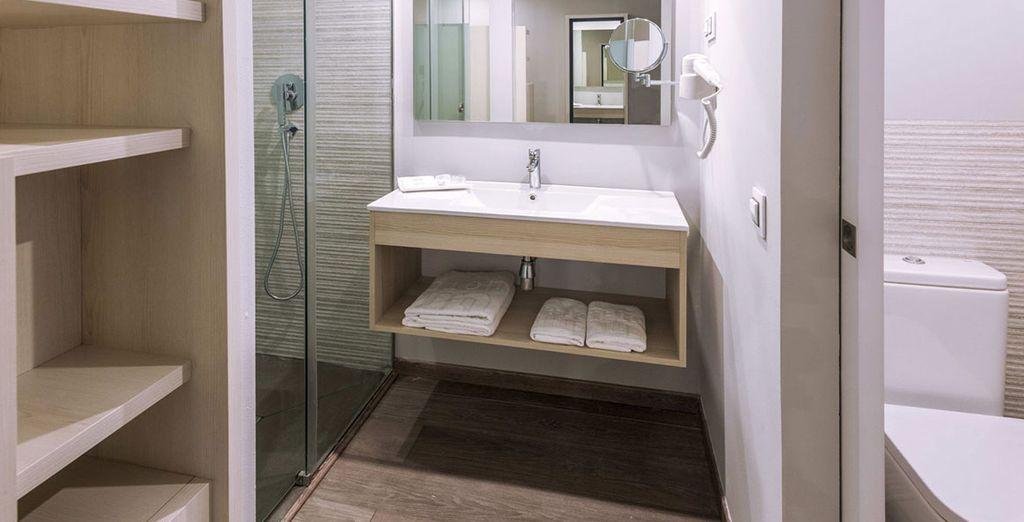 With sleek facilities to keep you comfortable