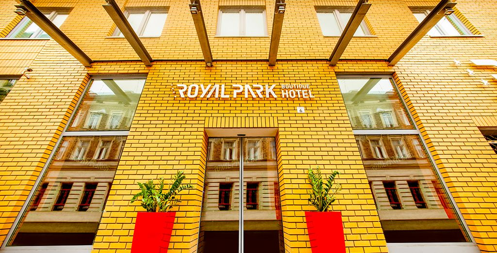 For a stay at the Royal Park Boutique Hotel, near the city centre