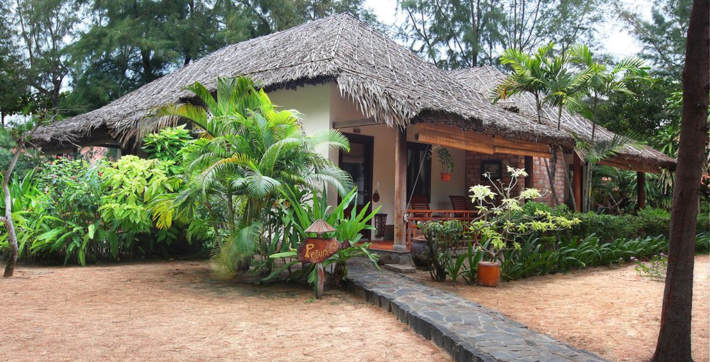Finish this wonderful tour with a few days in Ho Tram Resort