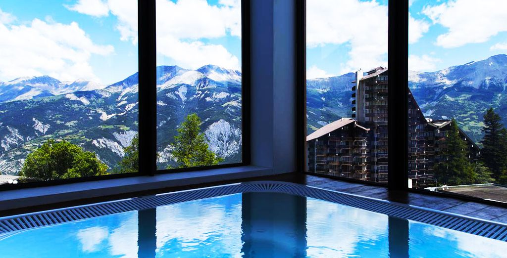 This is a stay perfectly combining mountain adventure with Alpine luxury and wellness