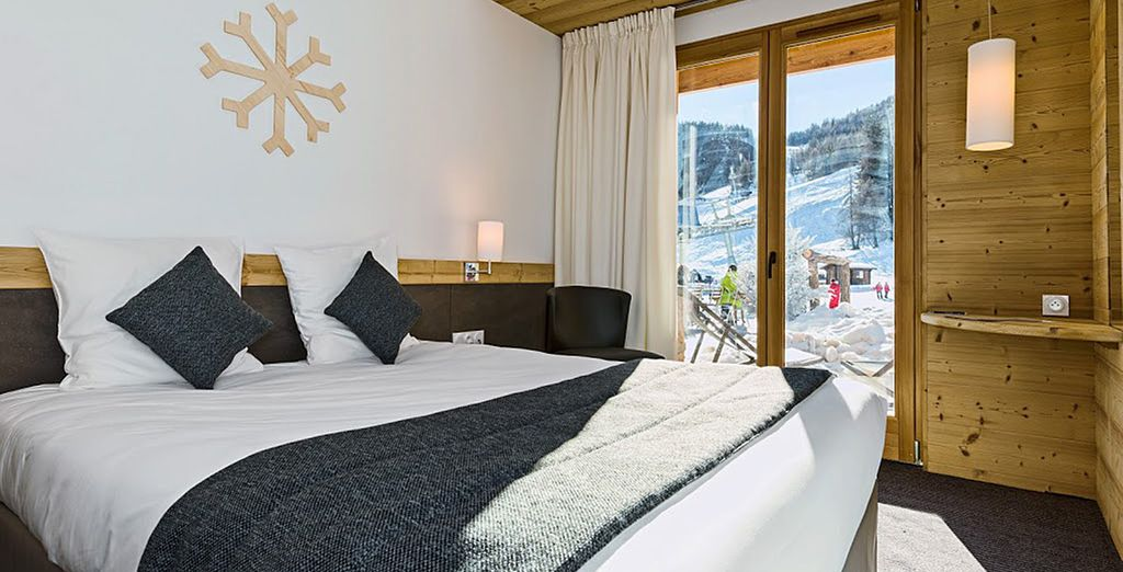 Enjoy your stay in a Superior Room Slope View