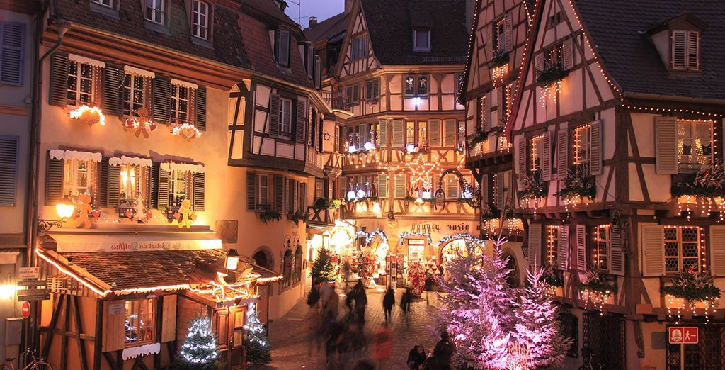 A trip to the whimical christmas market of Strasbourg