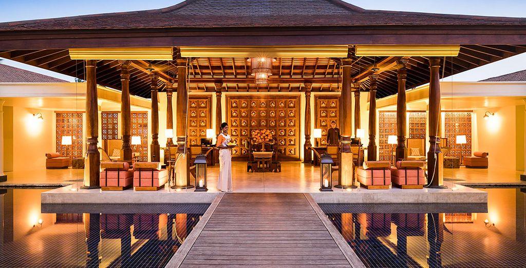 Step into this lavish resort