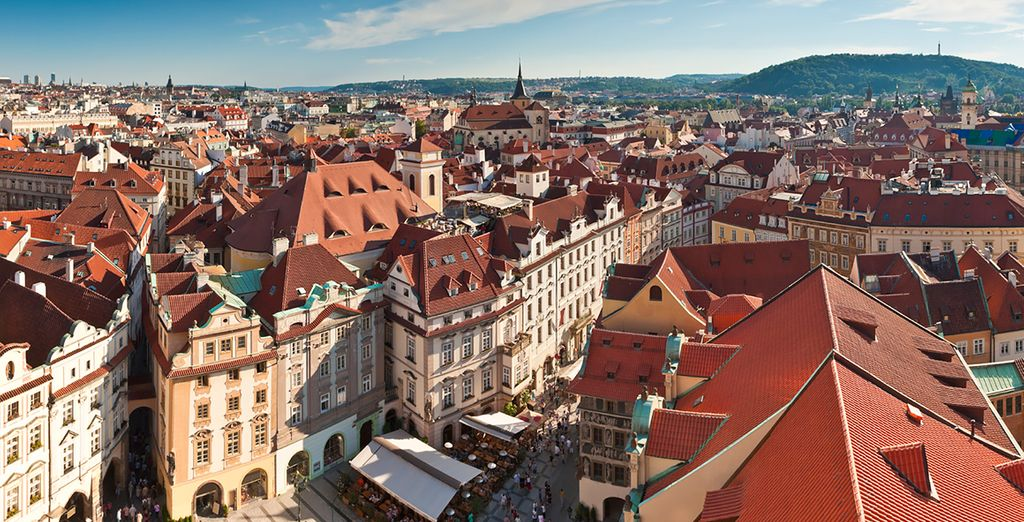 In the historic city of Prague
