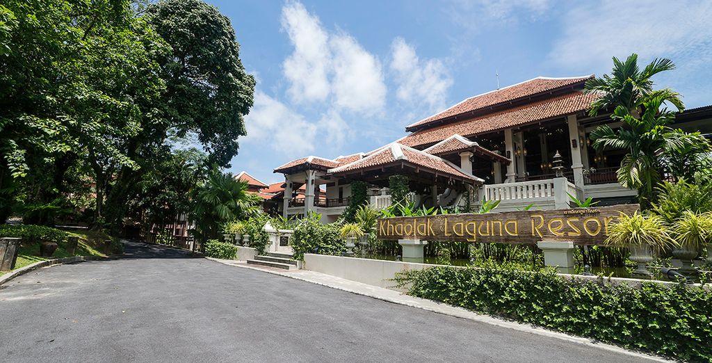 The Khaolak Laguna Resort is waiting for you...
