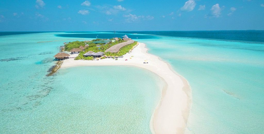 luxuriate on your private island retreat