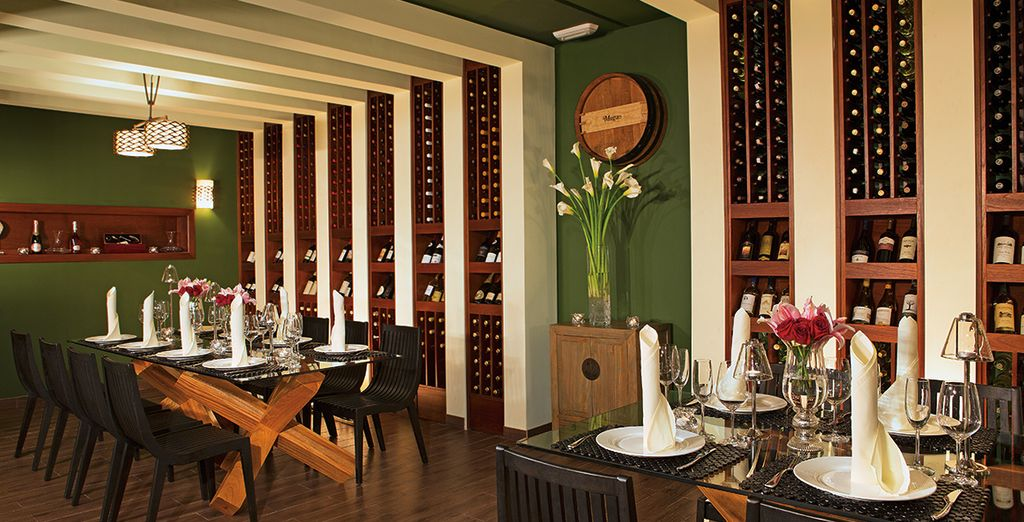 The Wine Cellar offers a spectacular delicatessen dinner