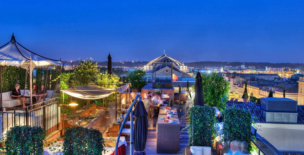 Then enjoy a nightcap at one of the hotel's many stylish bars or restaurants