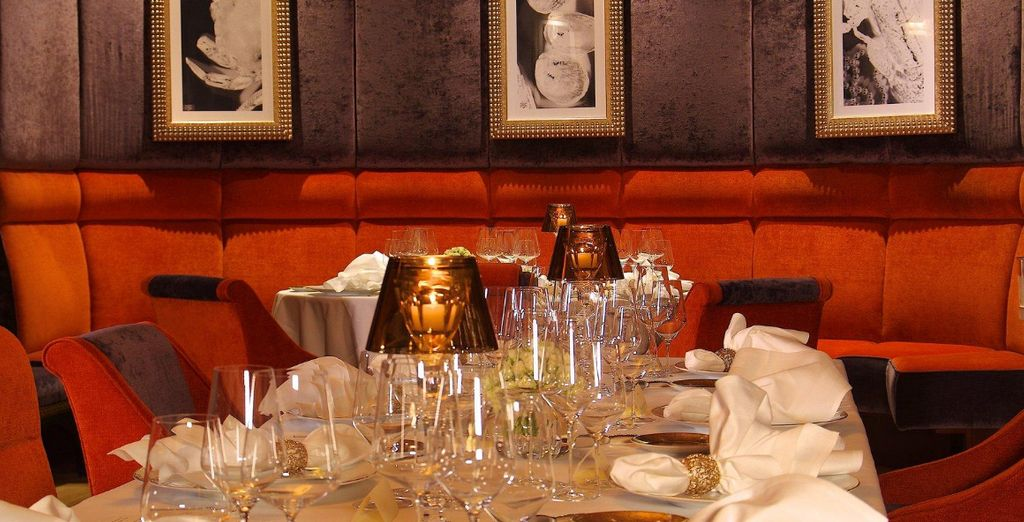 Including tantalising dishes at the hotel's newly opened Gordon Ramsay restaurant