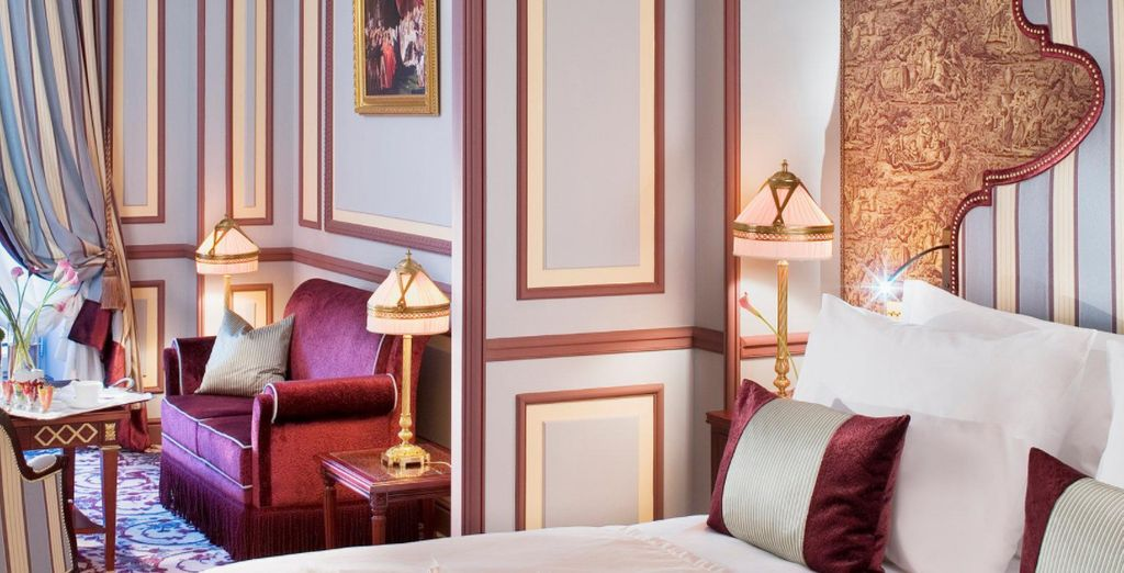 Or for an exceptionally elegant stay opt for a spacious Junior Suite