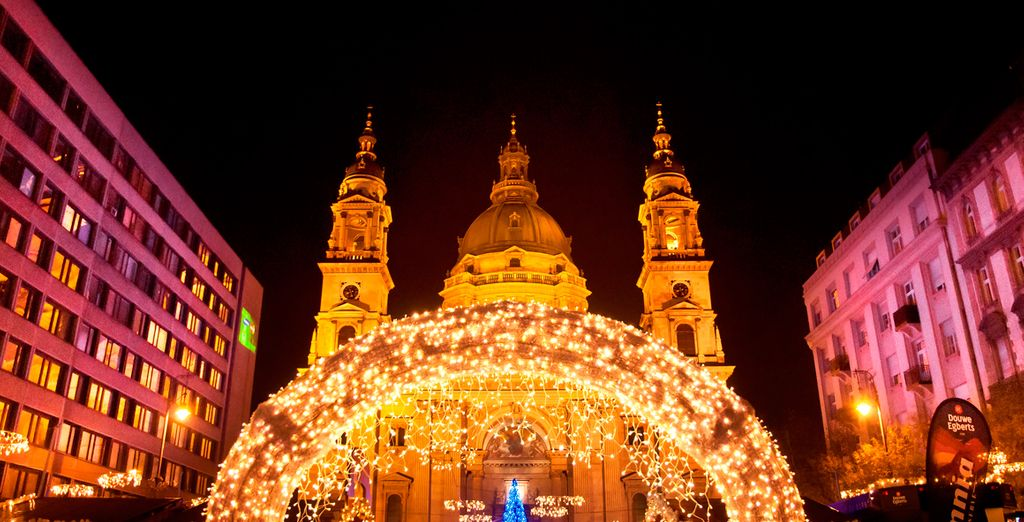 Or take a romantic stroll around the festive streets