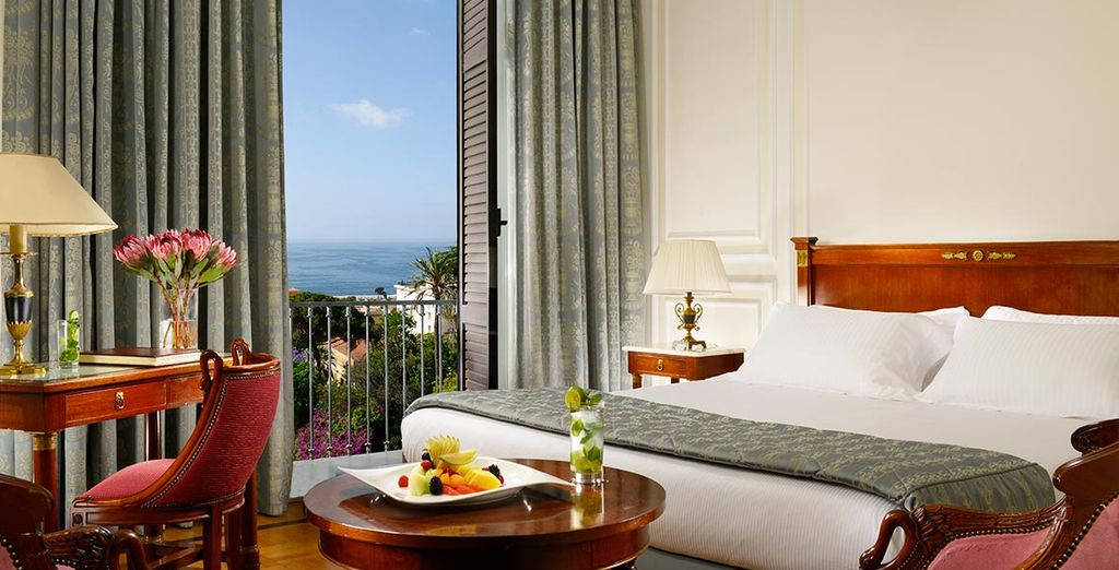 Or upgrade to a Deluxe Sea View Room