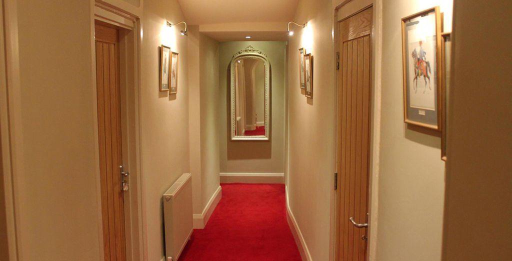 Wander through the inviting halls