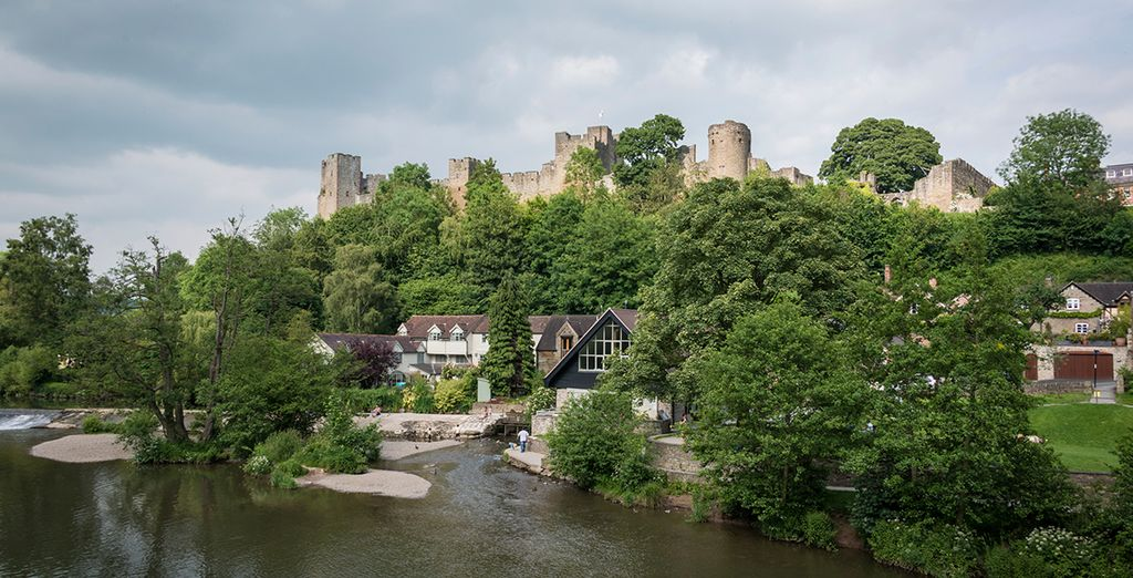 Why not explore nearby Ludlow?