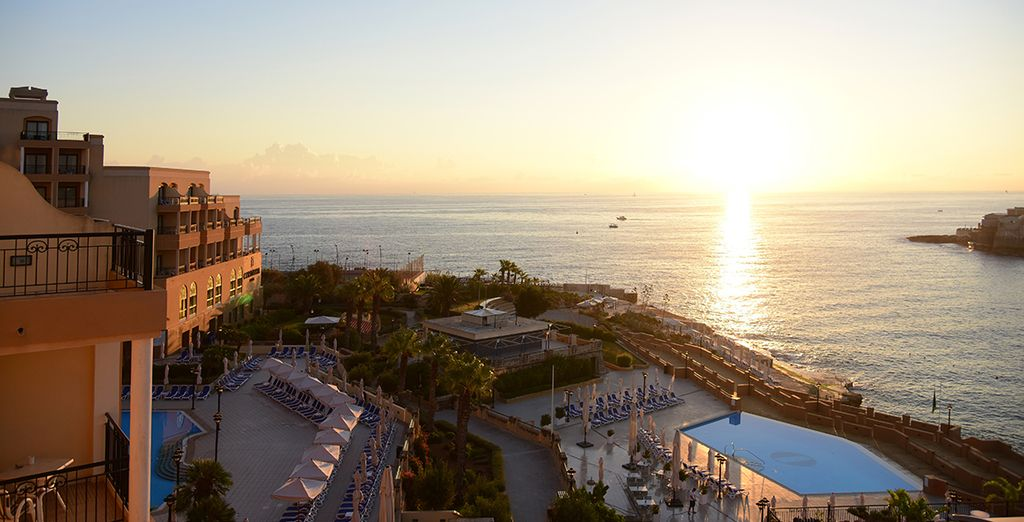 End your day with sunset drinks with overlooking the marina