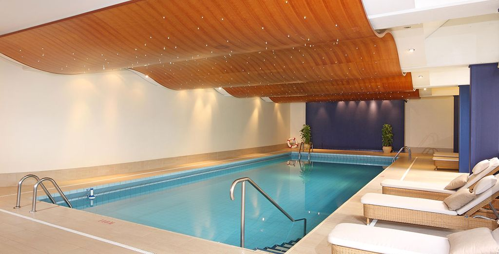 Escape for some 'me time' in the spa - you have free access