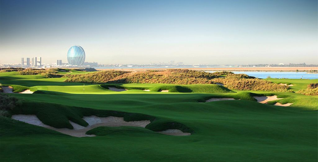 Or check out the world class golf courses in the area