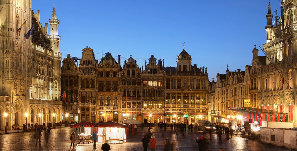 See the famous Grand Place
