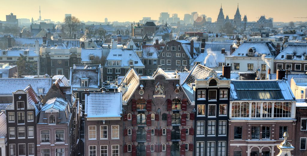 Amsterdam is beautiful in any season