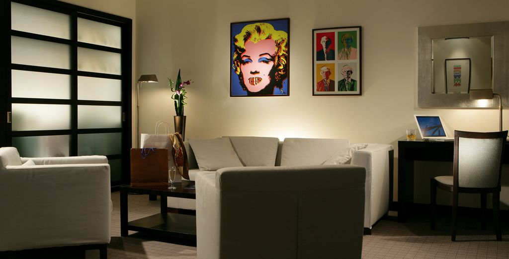 Enjoy the contemporary style of your hotel