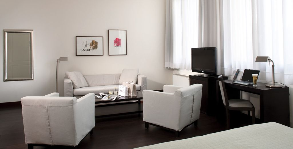 Or upgrade to an even more spacious Junior Suite