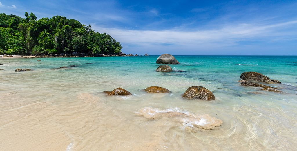 And let the gentle sea breeze of Khao Lak take you away