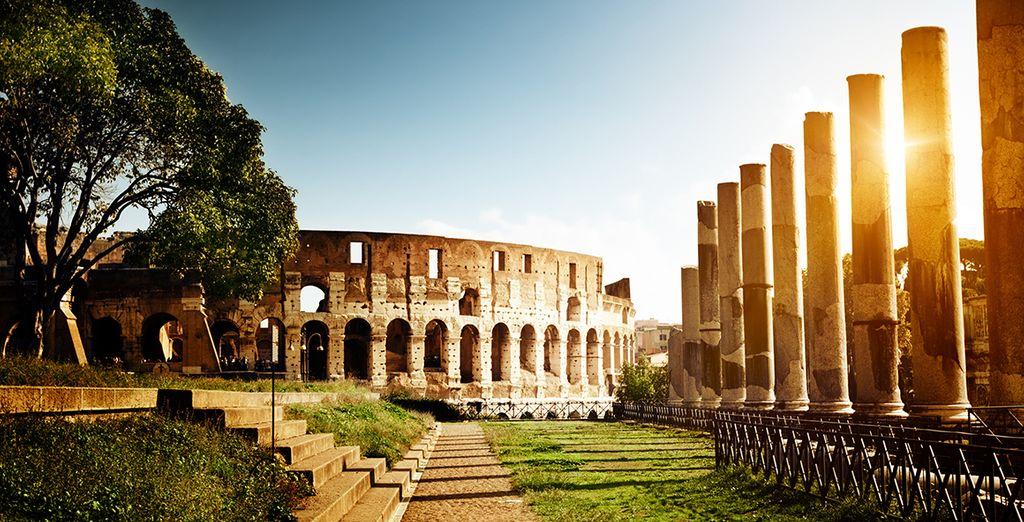 Or admire the Colosseum