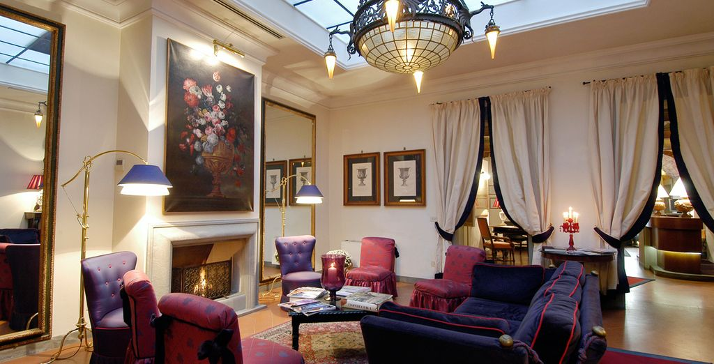 Discover the grace and majesty of the Hotel Cellai