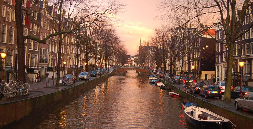 And countless canals make this one of the prettiest European cities