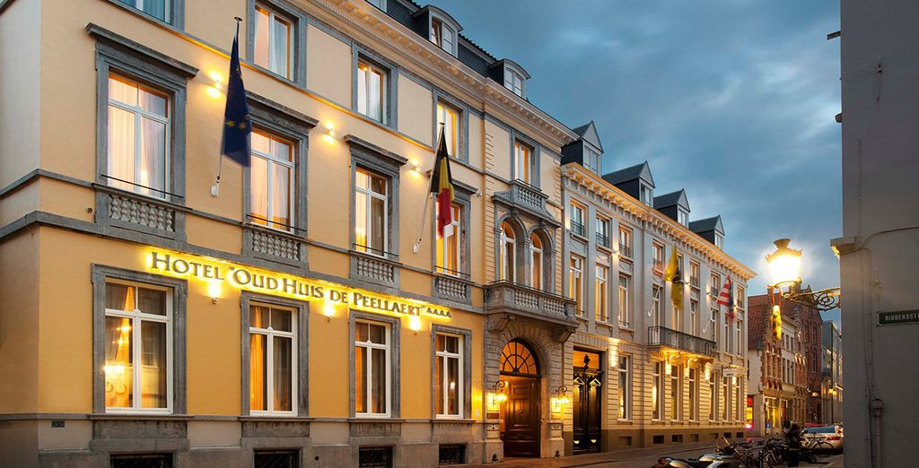 Welcome to Oud Huis de Peellaert - a superb, classic style hotel