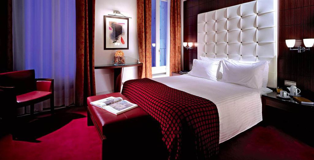 Where you will have a sophisticated stay