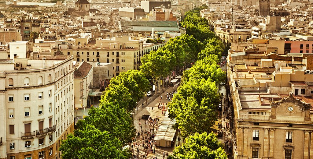 In beautiful Barcelona
