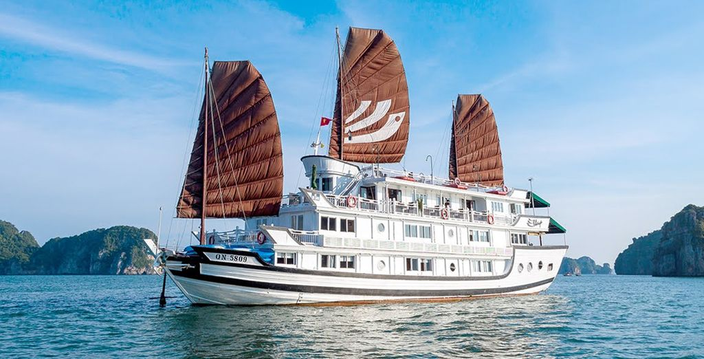 We've included an overnight cruise through UNESCO World Heritage site, Ha Long Bay
