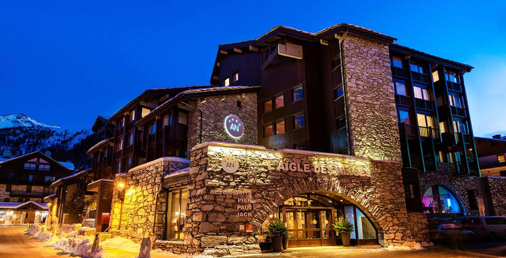 Experience it from L'Aigle des Neiges